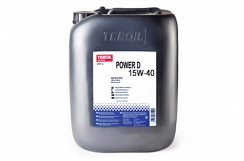 моторное масло teboil power d 10w, 20w-20, 30, 40 и 50 Моторное масло Teboil